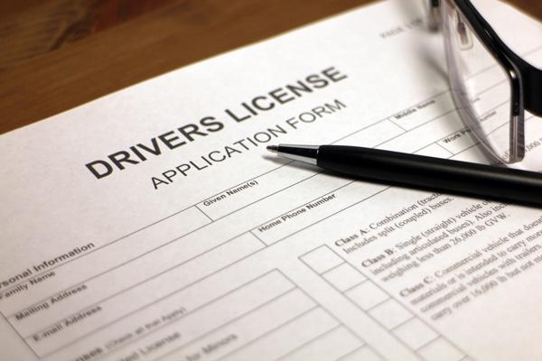 Führerscheinantrag
